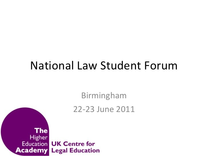 National law student forum