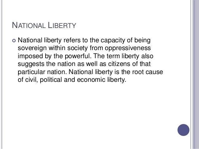 National liberty