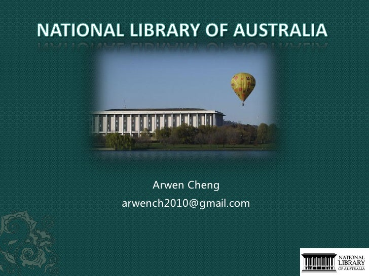 Arwen Cheng arwench2010@gmail.com