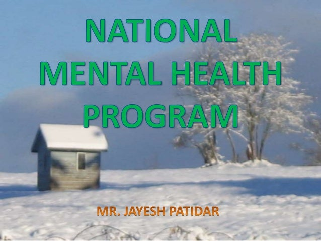 national mental health