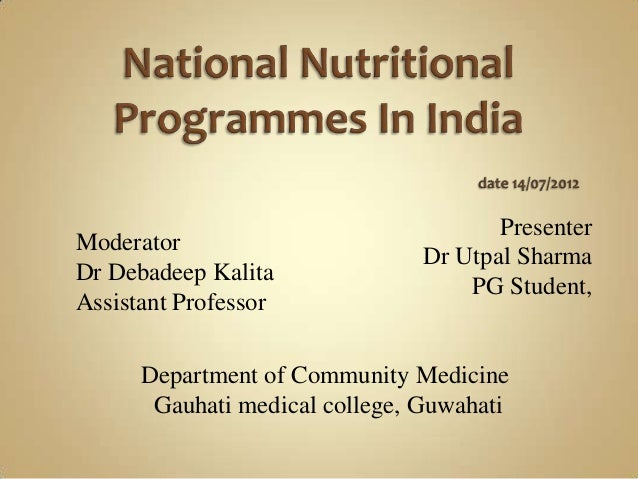 Presenter Dr Utpal Sharma PG Student, Moderator Dr Debadeep Kalita Assistant Professor Department of Community Medicine Ga...
