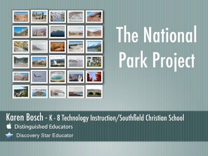 The National Park Project