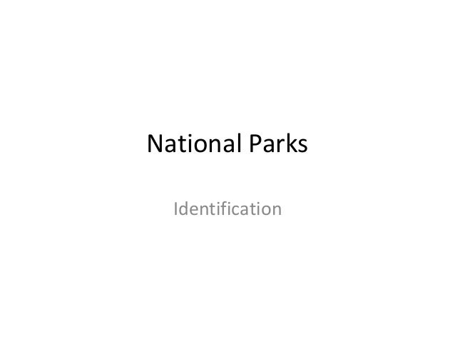 National Parks Location