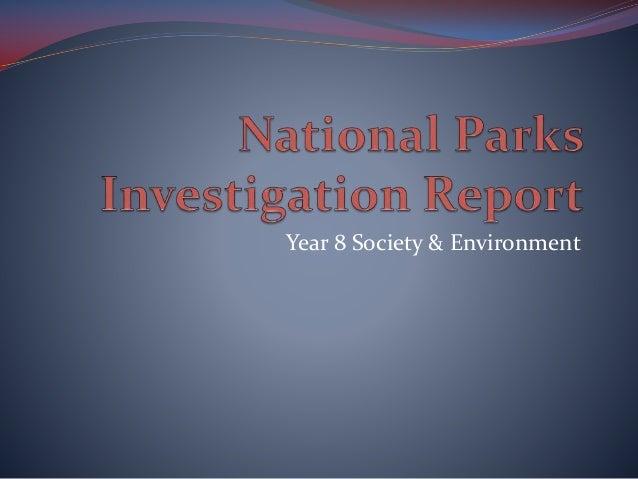 Year 8 Society & Environment