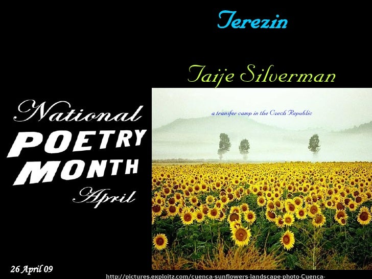 National Poetry Month 26