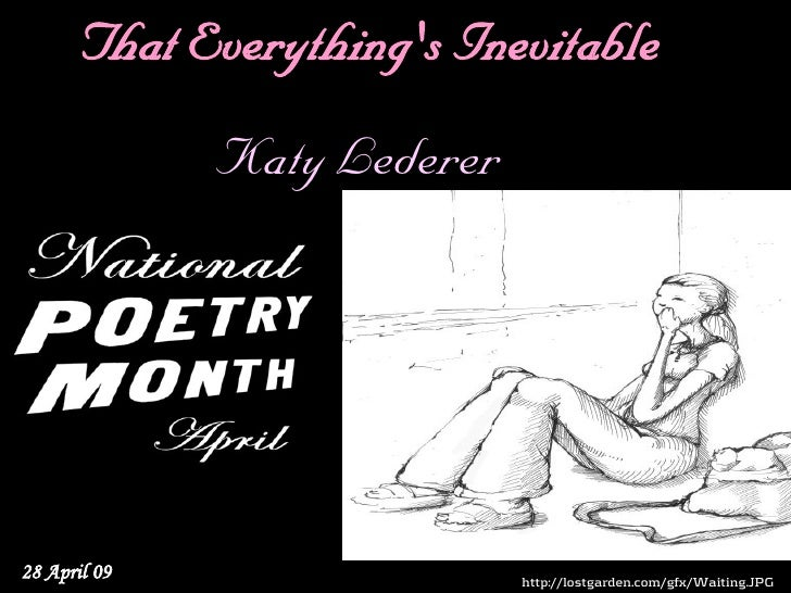 National Poetry Month 30
