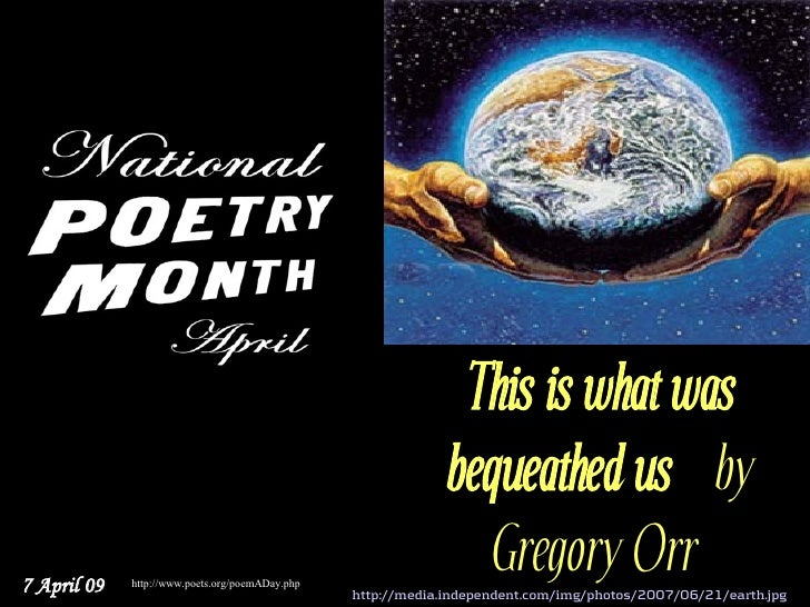 National Poetry Month 7