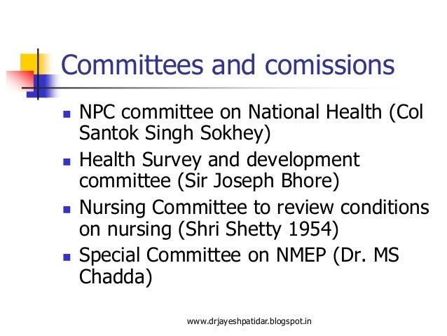 Bhore committee report volume 4