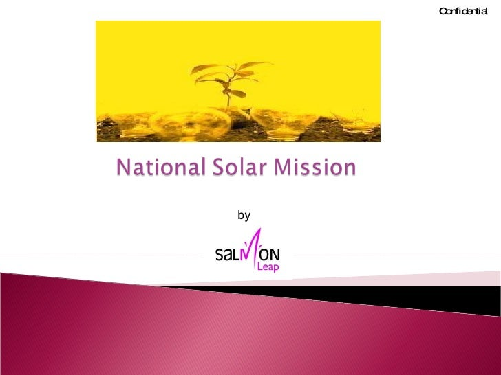 National Solar Mission India