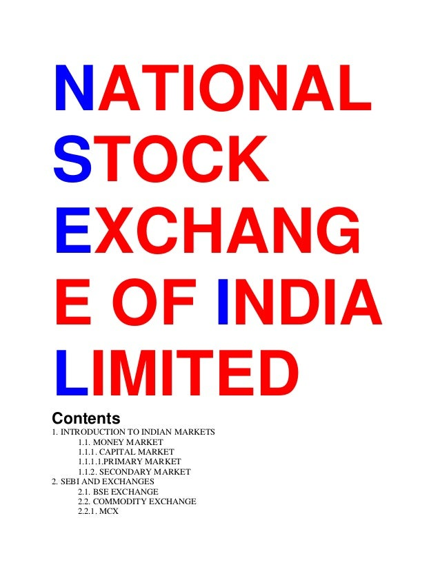 Options trading blog india