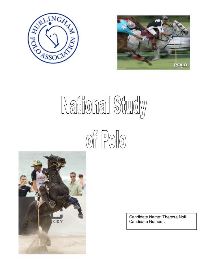 Task 2.3 National Study Exmple