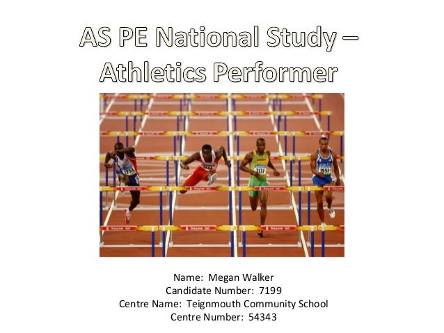 National study for AS PE in UK- Edexcel