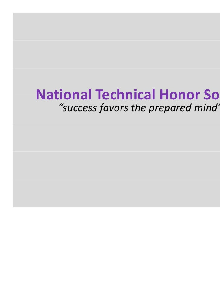 National Technical Honor Society Summer Conference 2011