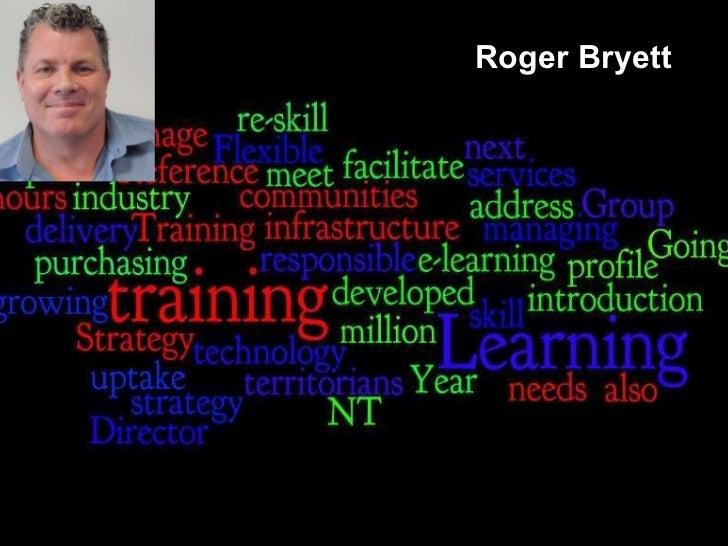 E-Maginarium - National VET e-learning strategy NT - Roger Bryett