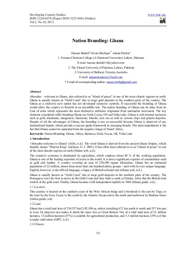 Nation branding ghana