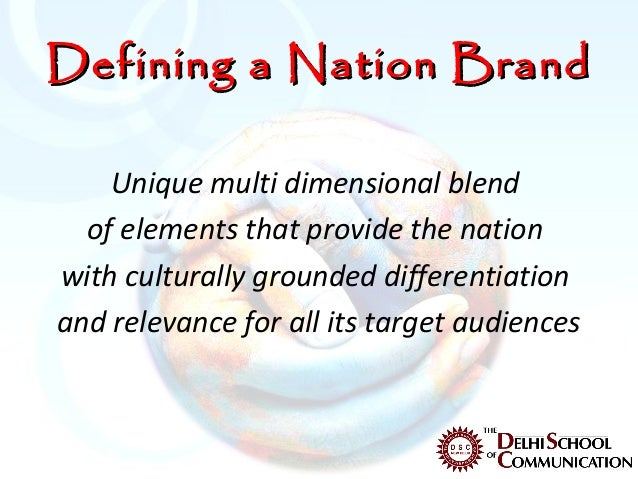 I need help with a dissertation on branding, particularly on nation brand...?