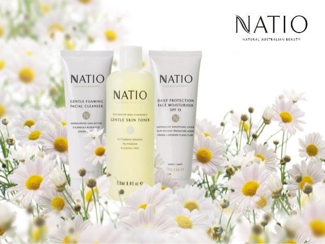 Natio India Products Range Presentation