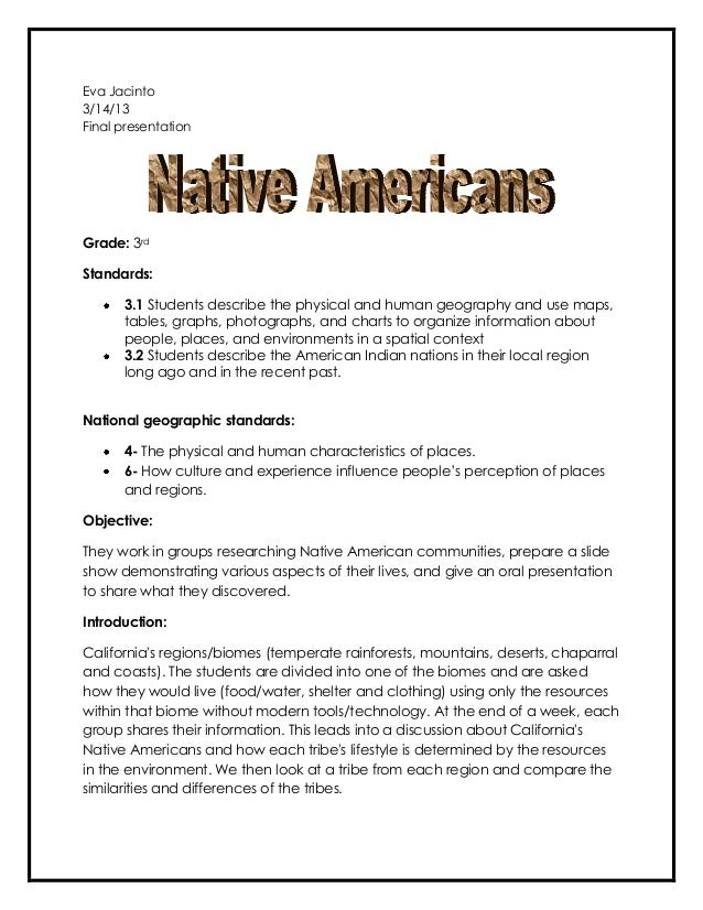 the native americans lack of materialism essay Media representation of asian americans and asian native new yorkers  attention that asian americans lack an original  that will be crucial to this essay.