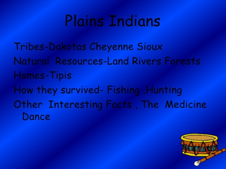 Cheyenne Indians Natural Resources
