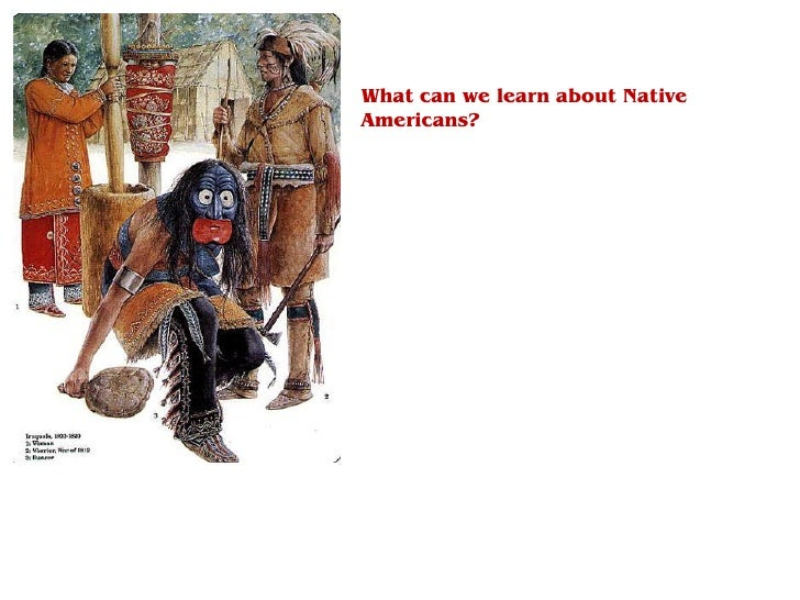 What can we learn about Native Americans?