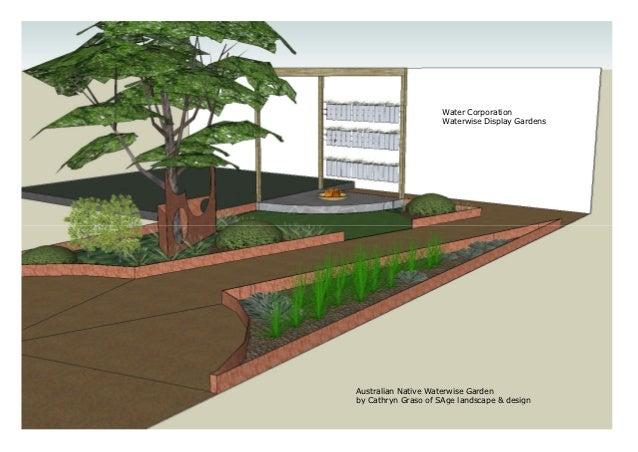 Design A Waterwise Garden Native Garden Design Australia