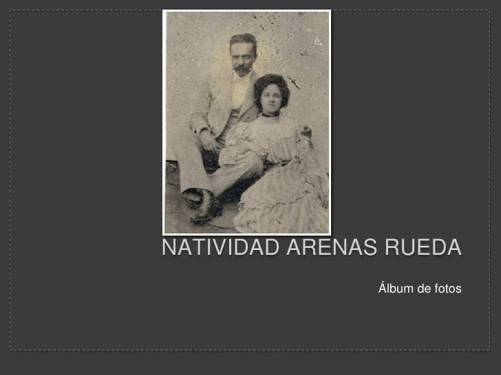 Natividad arenas rueda