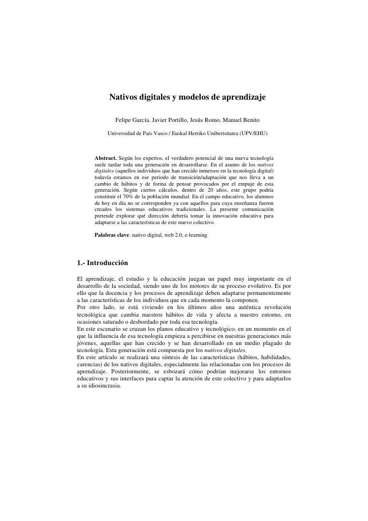 Nativos digitales y_modelos_de_aprendizaje