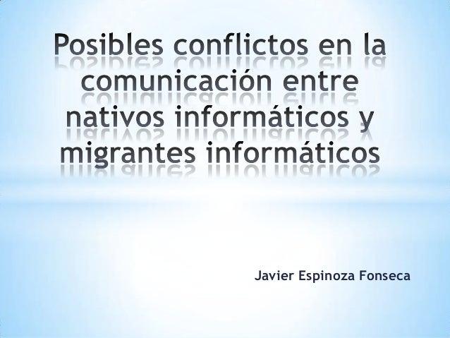Javier Espinoza Fonseca