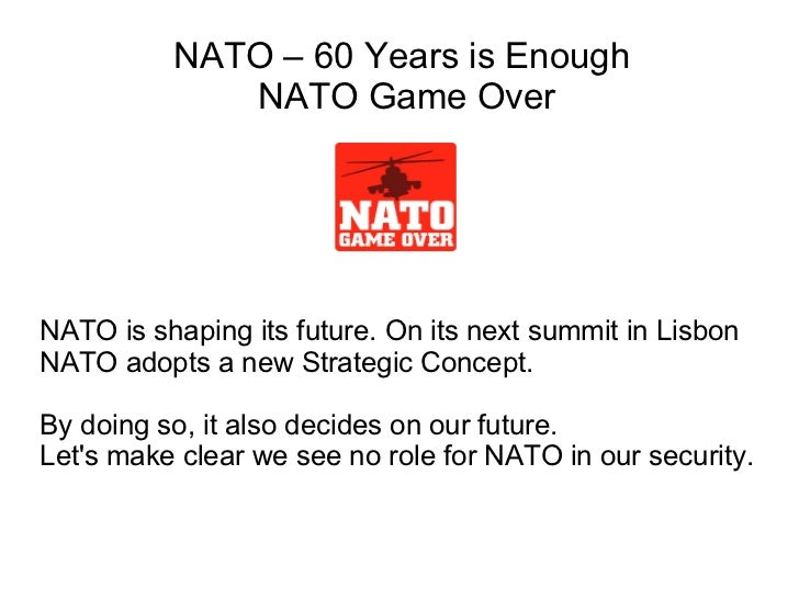 NATO is shaping its future. On its next summit in Lisbon NATO adopts a new Strategic Concept. By doing so, it also decides...