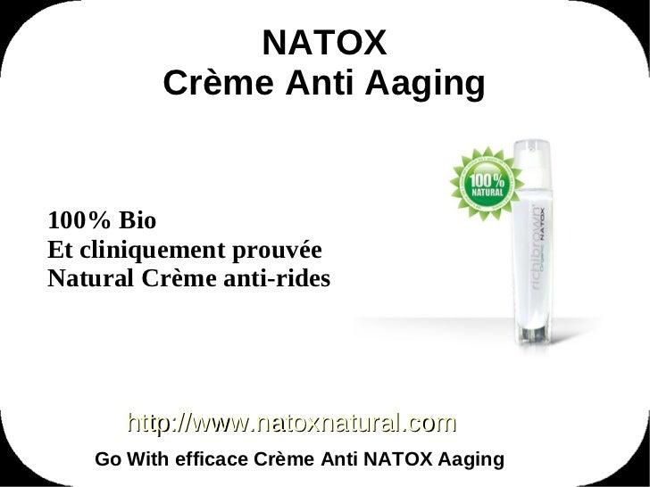 Natox Anti Agening Cream