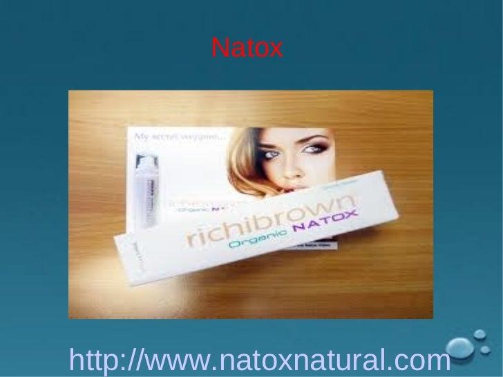 Natox Ingridient