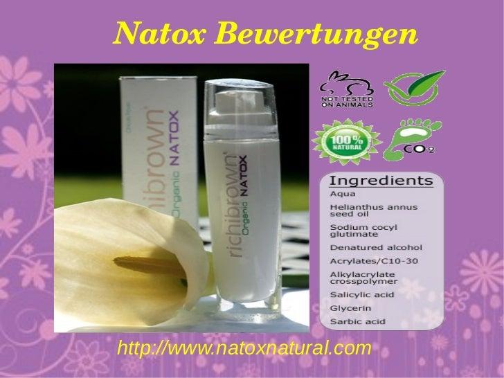 NatoxBewertungenhttp://www.natoxnatural.com