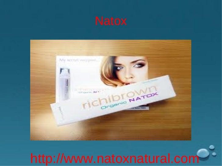 Natox zutaten