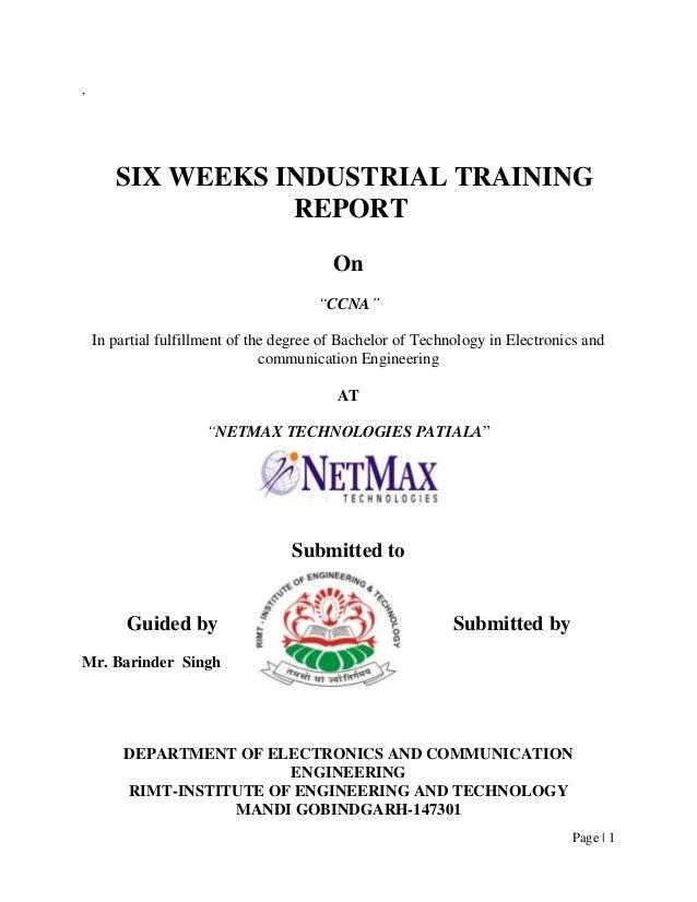 Nat report