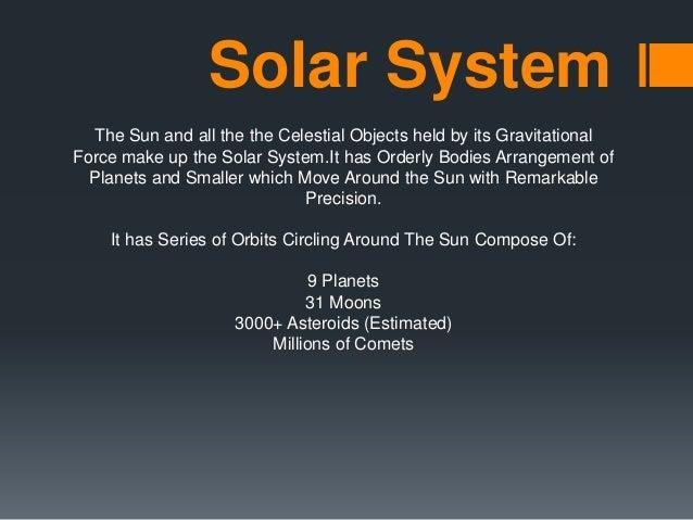 ASTRONOMY (SOLAR SYSTEM)