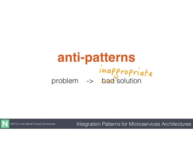 Integration Patterns for Microservices Architectures