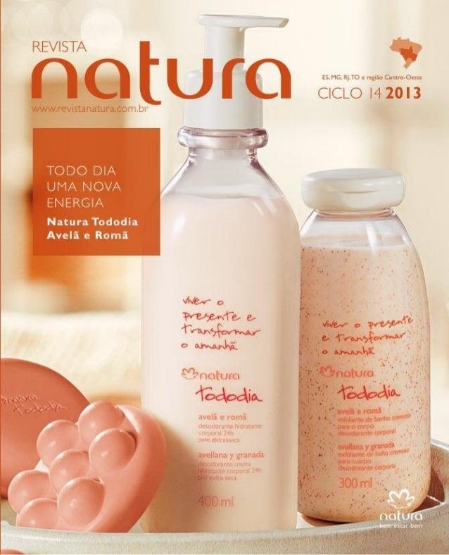 Revista Natura ciclo 14 - 05 setembro 2013