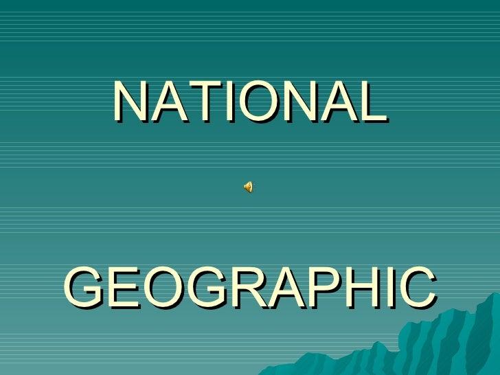 Natura Si Geografie