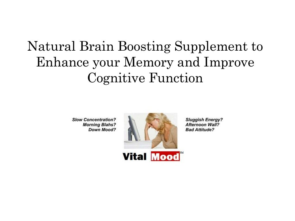 Natural brain boosting supplement to enhance your memory
