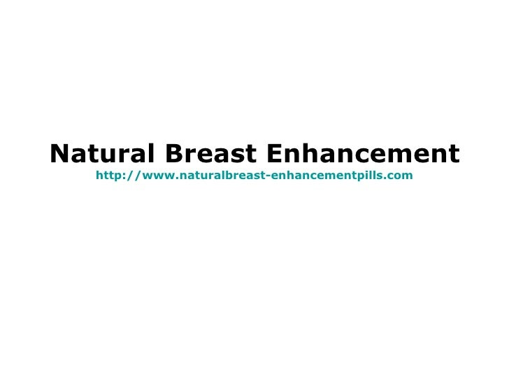 natural breast enhancement program time