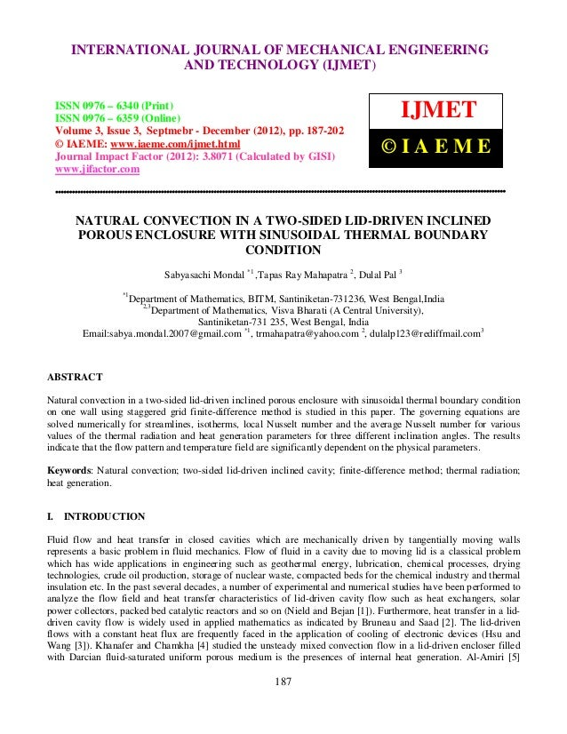 Natural convection in a two sided lid-driven inclined porous enclosure with sinusoidal thermal boundary condition