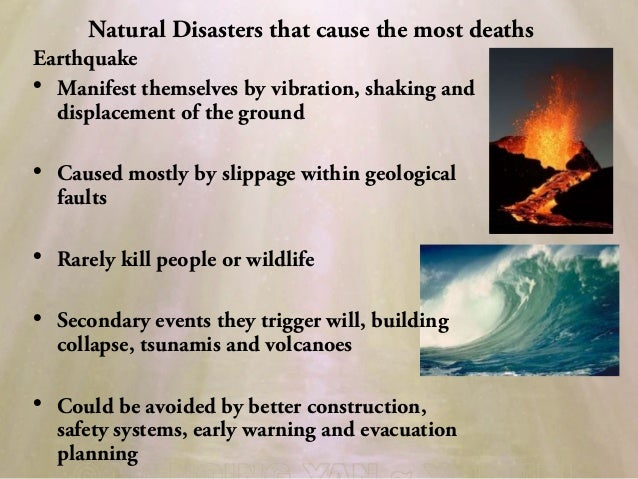 Natural Disaster Volcano Essay