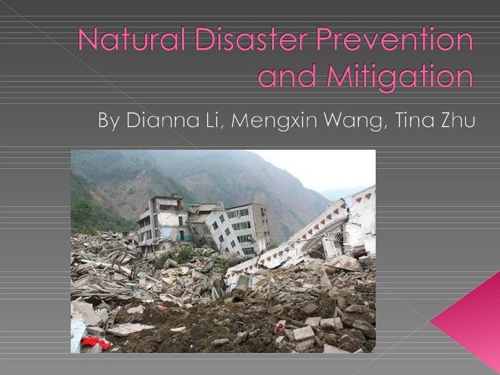 Brown-Natural Disasters-Tina, Dianna, Mengxin