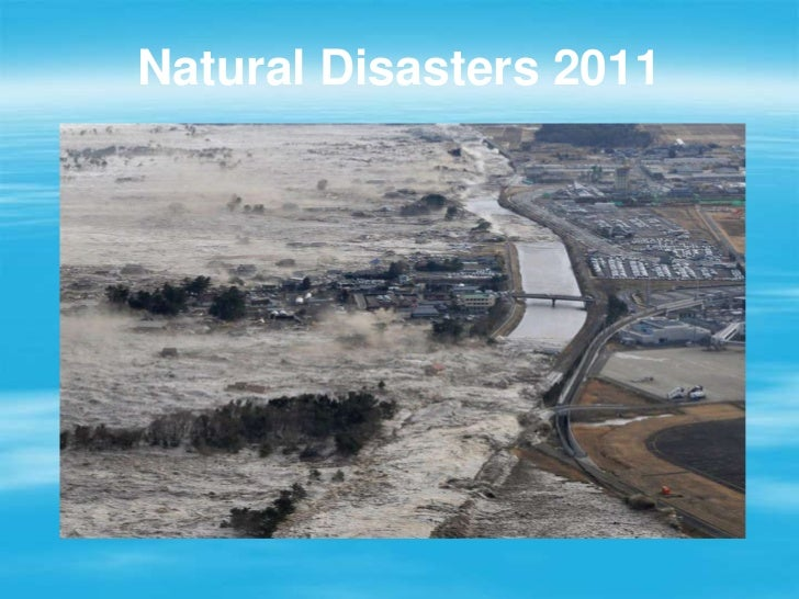 Natural Disasters 2011