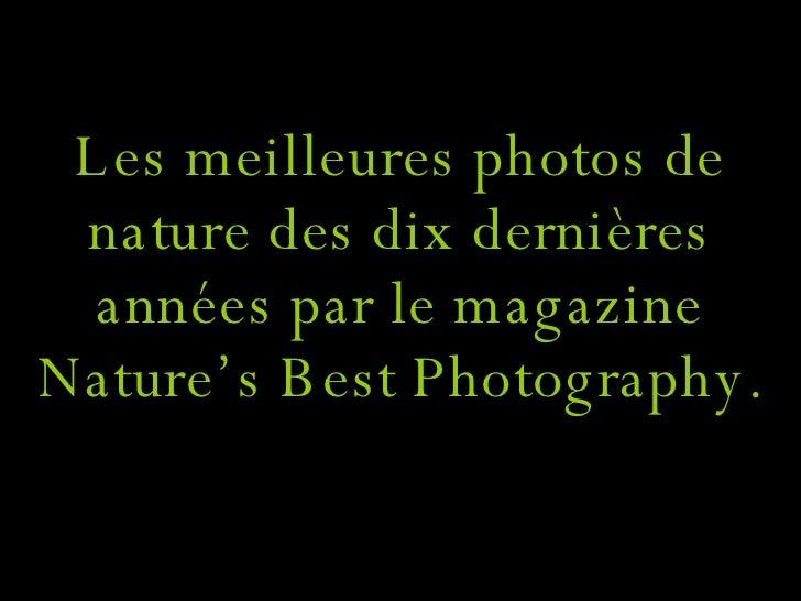 Bellas imagenes de la naturaleza