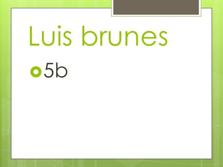 Luis brunes5b