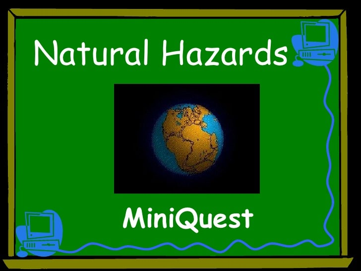 Natural Hazards MiniQuest