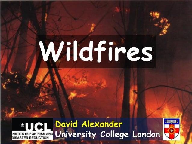 WildfiresDavid AlexanderUniversity College London