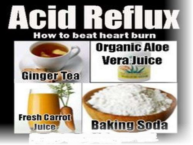 Natural Remedies To Stop Reflux