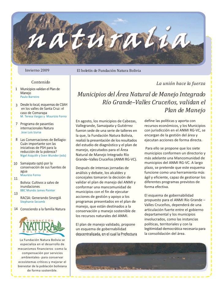 Naturalia Invierno 2009